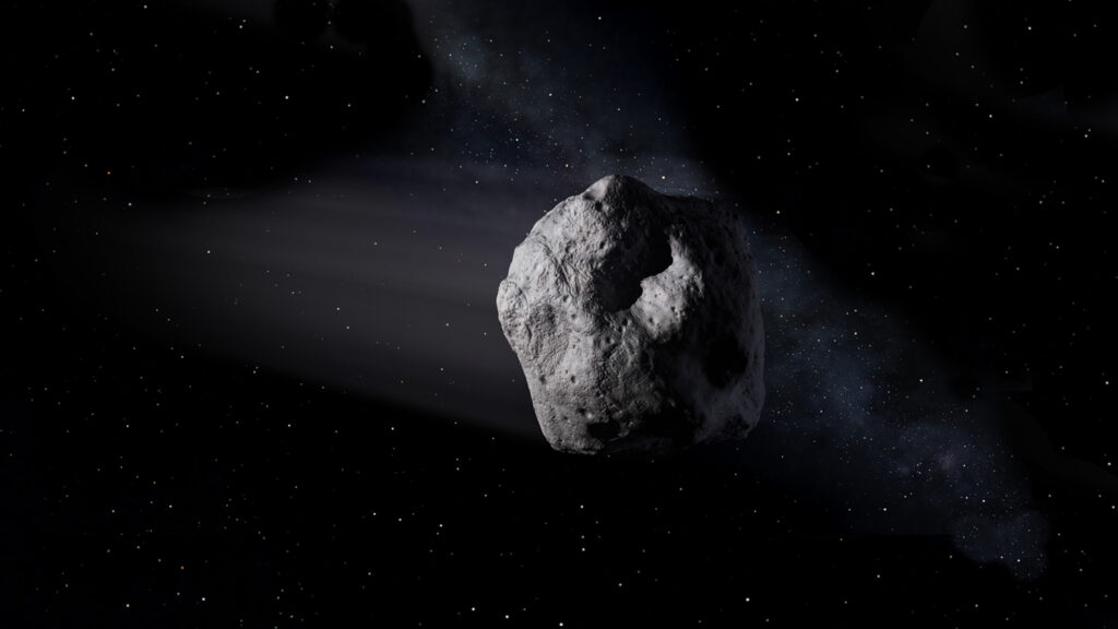 small asteroid