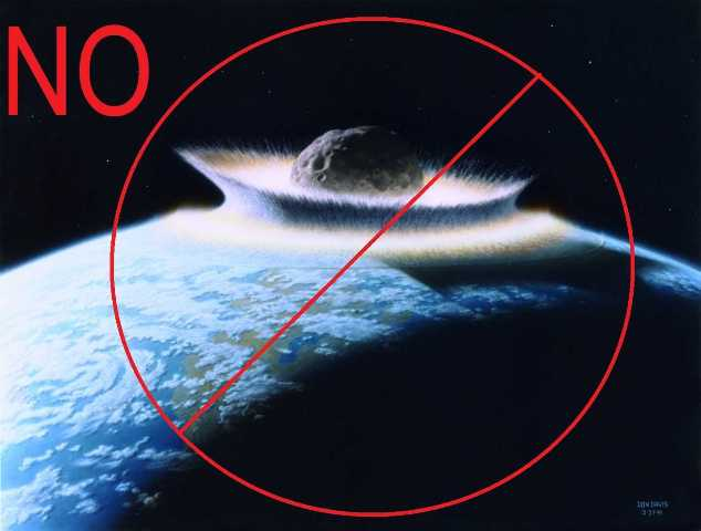 The Asteroid 2018 SV13 is not real. Therefore, it can be said 2018 SV13 will not hit the Earth.  Image edited by The Asteroid News see the original (public domain) image Planetoid crashing into primordial Earth at Donald Davis' official site (http://www.donaldedavis.com/PARTS/allyours.html )